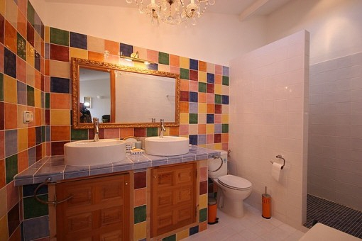 Bathroom in special style