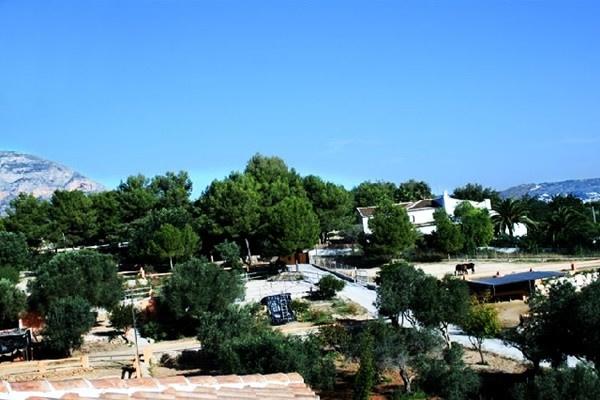 The huge outdoor-area
