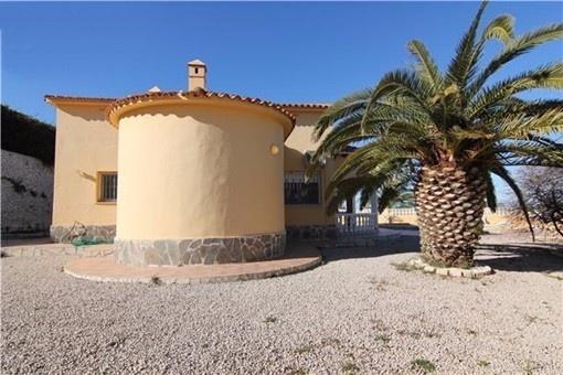 The beautiful  detached villa