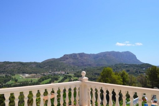 Views from one of the upper terraces