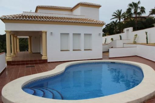 buy villa with pool benissa alicante