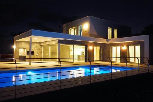 Amazing newly-built luxury villa in Moraira, Alicante